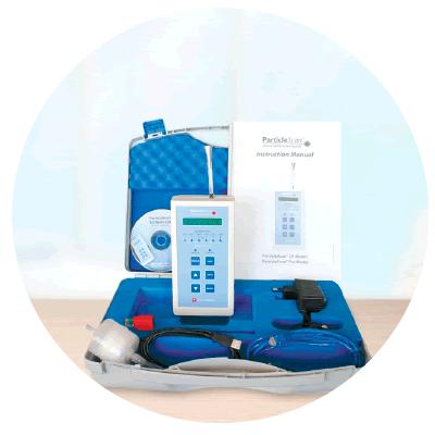medidor de particulas ParticleScan Pro